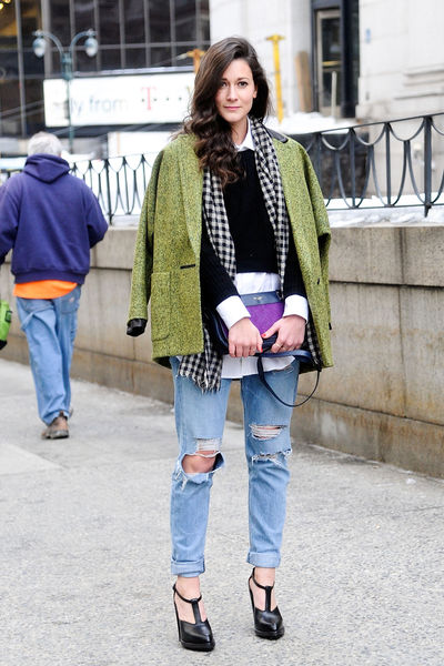 streetstyle new york fashion week winter 2015 � bettys world